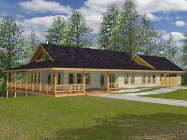 Country Home Design, 012H-0085