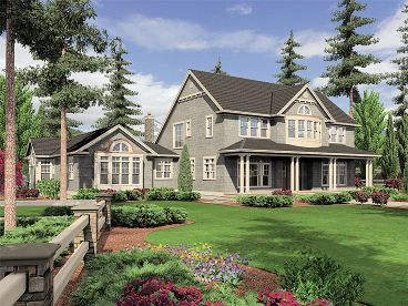 Country Home Plan, 034H-0217