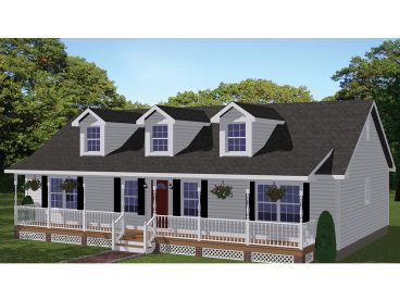 Country House Plan, 078H-0070