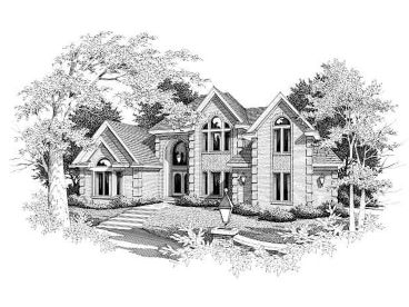 Luxury House Plan, 061H-0122