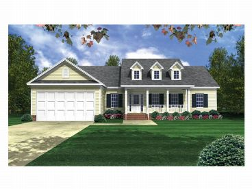 Country House Plan, 001H-0081