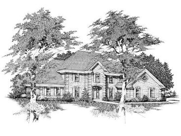 2-Story House Plan, 061H-0098
