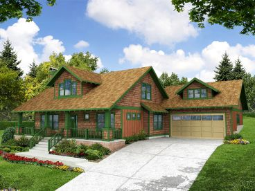 Craftsman Home, 051H-0097