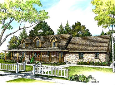 Country House Design, 008H-0024