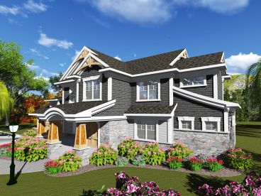 Two-Story Home Plan, 020H-0395
