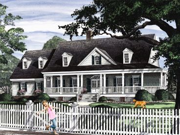 Southern Country Home, 063H-0139