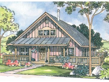 Vacation Home Plan, 051H-0071