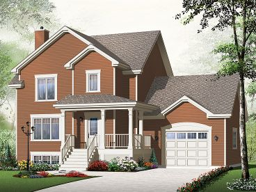 Country House Design, 027H-0309