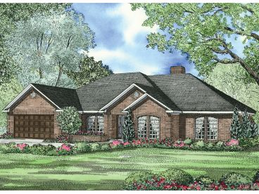 Traditional House Plan, 025H-0300