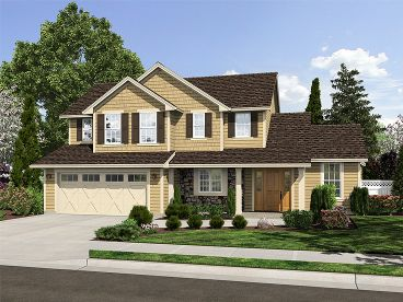 Two-Story Home Plan, 046H-0092