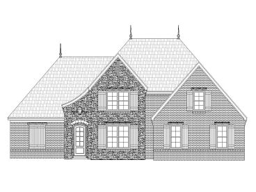 European Home Plan, 062H-0009