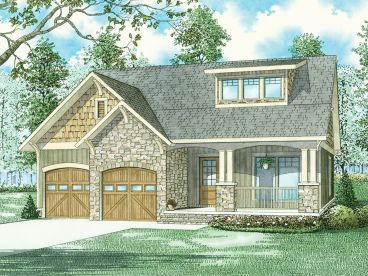 Bungalow House Plan, 025H-0346