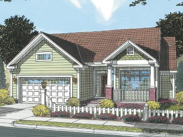 Traditional House Plan, 059H-0102