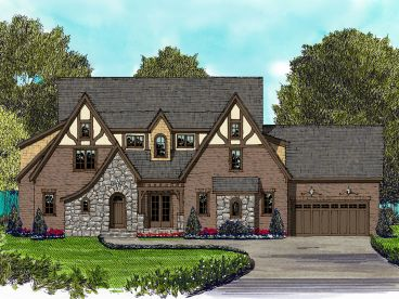 European House Plan, 029H-0127