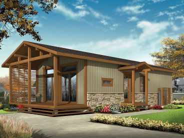plan 027h 0406 - Cabin House Plans