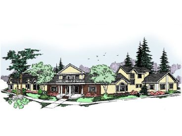 Townhouse Plan, 013M-0016