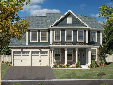 Traditional Home Plan, 014H-0092
