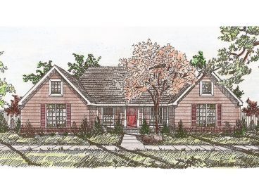 Ranch House Plan, 009H-0008