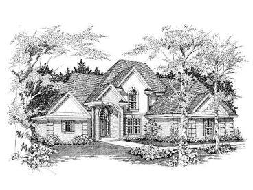 European House Design, 061H-0096