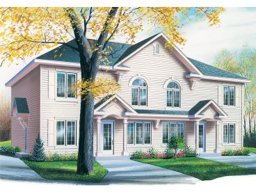 Multi-Family House Plan, 027M-0069