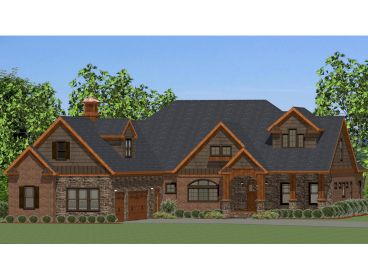 Waterfront Home Plan, 067H-0028