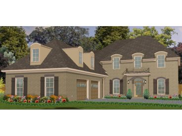 European House Plan, 073H-0068