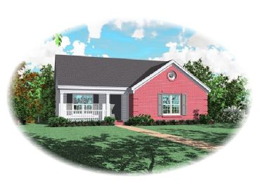 Small Home Plan, 006H-0014