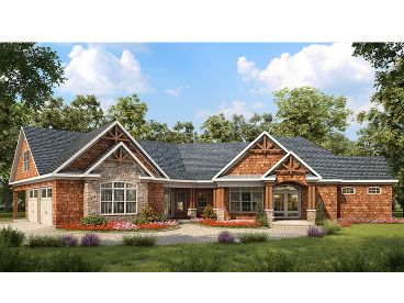 Craftsman Home Design, 019H-0158