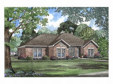 1-Story House Plan, 025H-0072