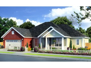 Traditional House Plan, 059H-0163