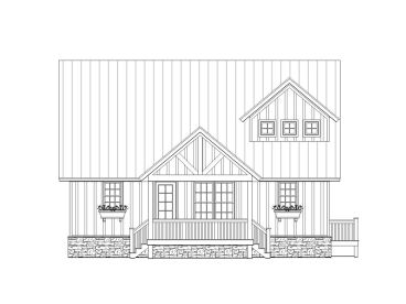 Country House Plan, 062H-0048
