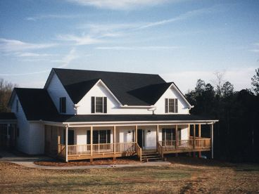 2-Story Country House, 007H-0106