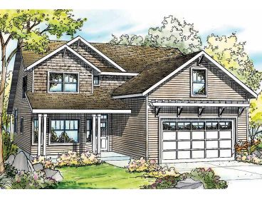 Two-Story Home Plan, 051H-0174