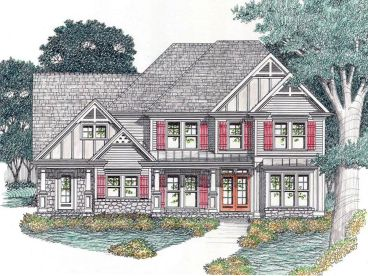 Two-Story House Plan, 045H-0060