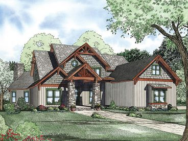 Waterfront House Plan, 025H-0209