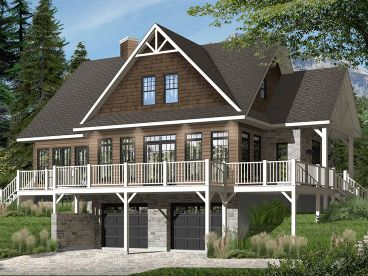 Mountain House Plan, 027H-0452