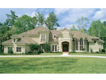 Luxury House Plan, 043H-0216