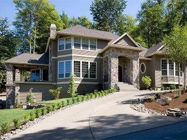 Hillside Home Plan Photo, 034H-0138