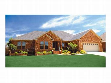 Traditional House Plan, 025H-0031