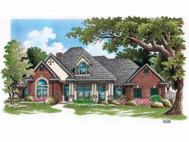 European House Plan, 021H-0162