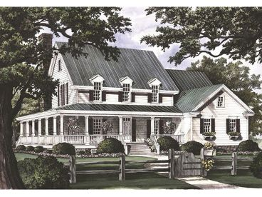 Country Home Design, 063H-0086