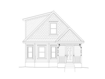 Two-Story House Plan, 062H-0021