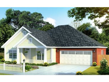 One-Story House Plan, 019H-0155