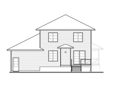 Affordable house plans contemporary two story affordable for Cheap two story house plans