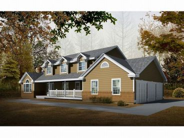2-Story Country Home, 026H-0032