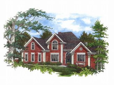 Luxury Home Plan, 007H-0103
