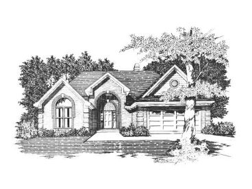 One-Story House Plan, 061H-0054