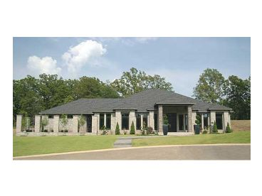 Contemporary Home Plan, 025H-0170