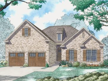 Traditional House Plan, 074H-0069