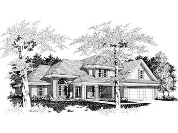 Family House Plan, 061H-0052